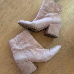 Sam Edelman Pink Booties